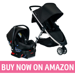 BRITAX B-Lively  - Best Compact Travel Stroller