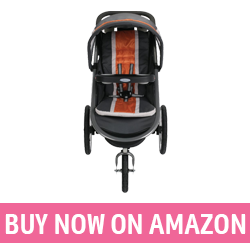 Graco Fastaction Fold Jogger - Running Stroller with Car Seat