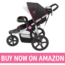 J is for Jeep Brand - Best Jogging Stroller for the Money