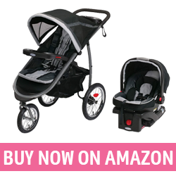 Graco Fastaction Fold Click Connect - Best Beach Travel Stroller