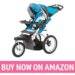 Pacific Cycle Schwinn Turismo - Baby Stroller with Big Wheels