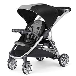 chicco sit and stand stroller