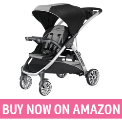 Stroller with Toddler Stand