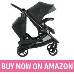 Double Stroller with Standing Option