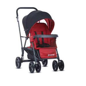 JOOVY Caboose Stand-On Tandem Stroller Review