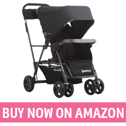 Joovy Caboose Ultralight - Double Stroller with Standing Option