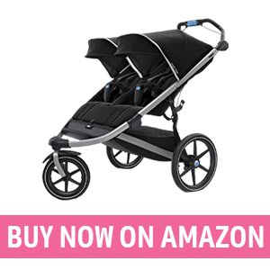 Thule Urban Glide 2 - Best Double Stroller with Car Seat